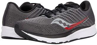 Saucony Ride 13 (Alloy/Black) Men's Shoes