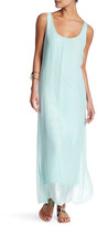 Luma Sleeveless Silk Maxi Dress