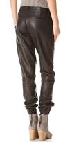 Rag and Bone Leather Pajama Pants