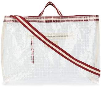Bellerose Dilya checked tote bag