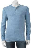 Men's SONOMA Goods for LifeTM Slim-Fit Everyday Henley Tee