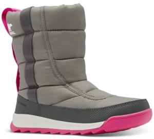 Sorel Big Kids Whitney Ii Puffy Mid Boots Women's Shoes