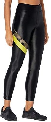 Koral Stage High-Rise Infinity Leggings (Black/Camo/Lime) Women's Casual Pants