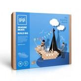 Gigi Bloks Cardboard Building Set - Set of 96 blocks