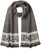 Kenzo Printed Scarf with Wool