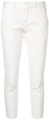 Nili Lotan Cropped Skinny-Fit Trousers
