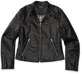 Ralph Lauren Faux-Leather Moto Jacket
