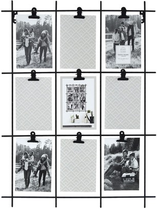 New View Gifts & Accessories Wire Grid Photo Clip Collage Frame