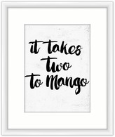 PTM Images It Takes Two to Mango Framed Giclee - 18 x 22