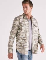 Lucky Brand Camo Workwear Western Shirt