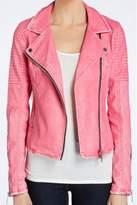 Blank NYC BlankNYC Pink Vegan Jacket