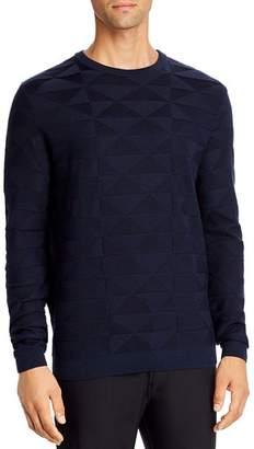 Giorgio Armani Geometric Crewneck Sweater
