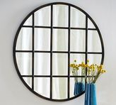 Pottery Barn Eagan Multipanel Round Mirror - Bronze