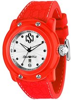 Glam Rock Miami Beach GR2402 46mm Plastic Case Red Silicone Mineral Men's & Women's Watch