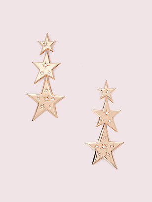 Kate Spade Star Of The Show Statement Linear Earrings