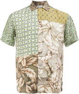 Pierre Louis Mascia Pierre-Louis Mascia patchwork shirt