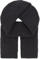 Junya Watanabe Knitted Wool & Cashmere Scarf