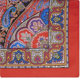Etro Paisley silk pocket square