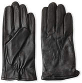 Fownes Cashmere-Lined Touch Leather Gloves