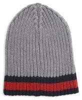 Gucci Charui Striped Wool Hat