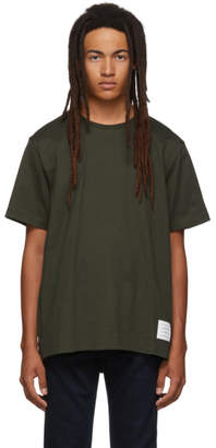 Thom Browne Green Relaxed Fit T-Shirt