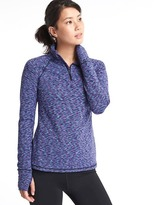 Gap Spacedye half-zip pullover
