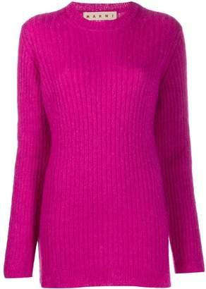 Marni ribbed knit jumper