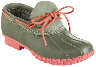 L.L. Bean Women's Small Batch L.L.Bean Boots, Nubuck Rubber Moc