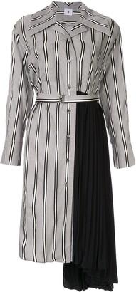 Maison Mihara Yasuhiro Pleated Side Dress
