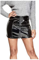 Guess Dylan Patent Faux-Leather Skirt
