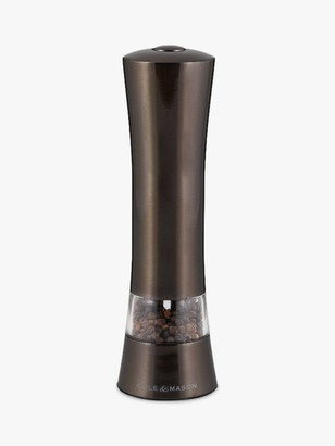 Cole & Mason Witney Stainless Steel Electronic Pepper/Salt Mill
