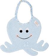 Octopus Zigozago Bib-WHITE