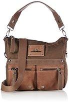 Sansibar Women's Colla Shoulder Bag Brown Braun (coffee)