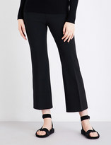 Elizabeth and James Mott high-rise flared stretch-jersey leggings