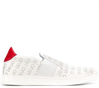 Liu Jo All-Over Logo Sneakers