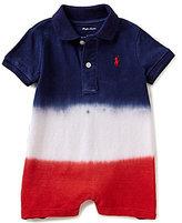 Ralph Lauren Baby Boys 3-24 Months Americana Dip-Dyed Polo Shortall