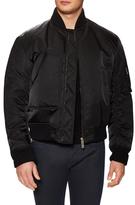 Jil Sander Solid Stand Collar Bomber Jacket