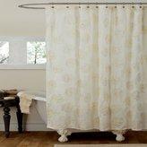 """Lush Decor Samantha Shower Curtain, 72"""" x 72"""", Ivory"""