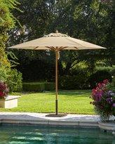 Santa Barbara Designs Linen Standard Canopy Outdoor Umbrella & Low-Profile Steel Base