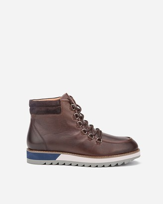 Express Vintage Foundry Co. Gunther Lace-Up Boots