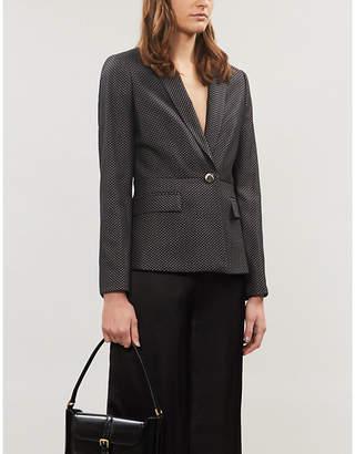 Ted Baker Neolaa jacquard regular-fit woven blazer