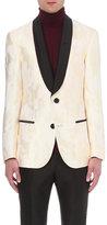 Bally Regular-fit Woven Camo Silk And Wool Blend Jacket
