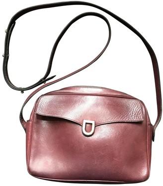 Delvaux Burgundy Leather Handbags