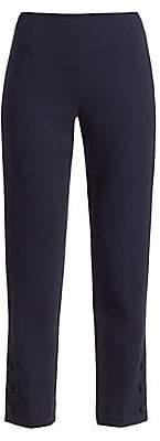 Lela Rose Women's Button Detail Wool Crepe Pants