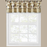 Asstd National Brand Coffee Shoppe Rod-Pocket Tailored Valance