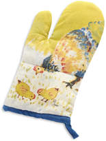 Sur La Table Jacques Pepin Collection Watercolor Chickens Linen Oven Mitt