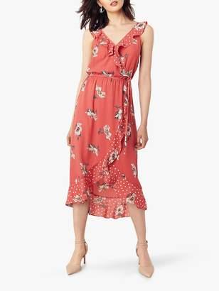 Oasis Ruby Ruffle Dress, Orange
