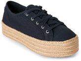 Steve Madden Navy Hampton Platform Espadrille Sneakers