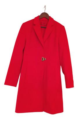 HUGO BOSS Red Wool Coats