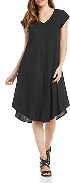 Thumbnail for your product : Karen Kane V-Neck Trapeze Dress